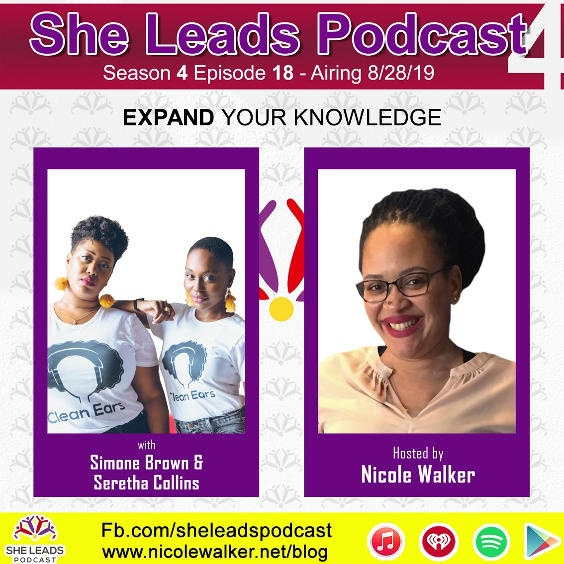 SHE LEADS PODCAST S4 E18: Expand Your Knowledge with Seretha